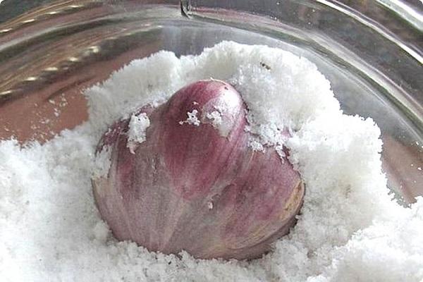 Как сохранить чеснок на зиму
