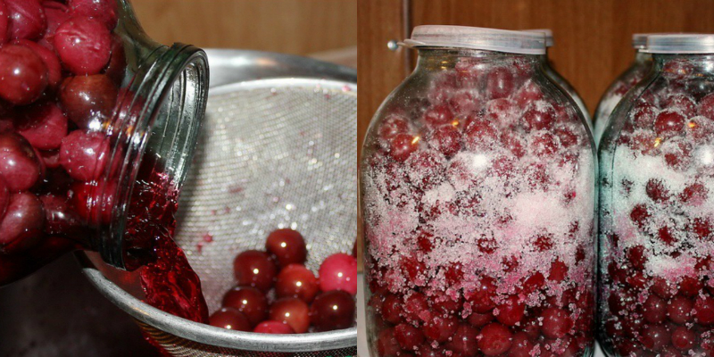 Созрела вишня! Отбираю самую сочную, самую вкусную — и в банку. Получается чистейшая амброзия. Нестареющий рецепт для каждого ягодного сезона!