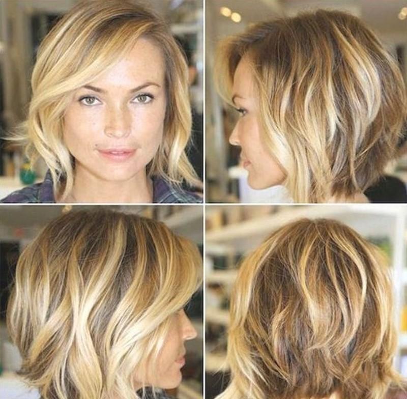 Пора освежить каре: 18 стильных вариантов мелирования коротких волос