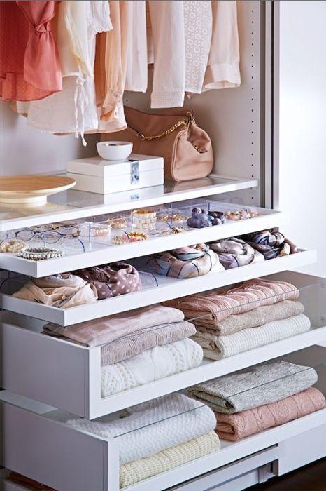 Порядок в доме: 17 идей для правильной организации гардероба