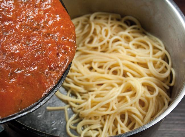 Соединим-ка Запад с Востоком. Спагетти под нутовым (гороховым) соусом